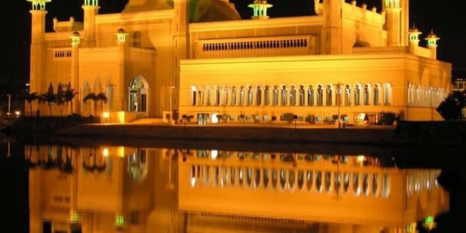 قصر سلطان بروناي الذهبي وطائرته الخاصة مدونة سلمان البحيري